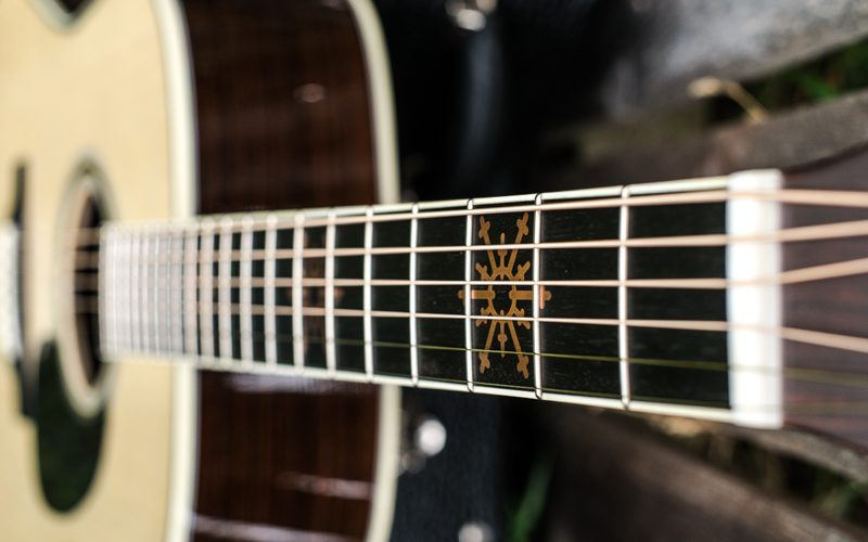 """The Martin D-35 Seth Avett """"Signature Guitar"""" is a Thing of Beauty."""
