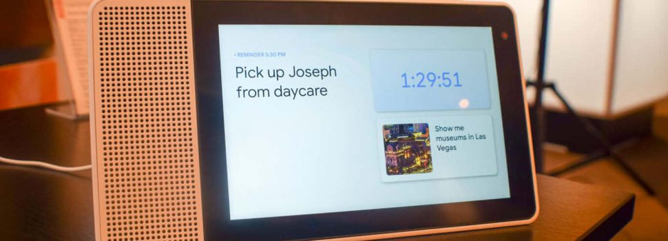 Lenovo Smart Display is the Only Choice