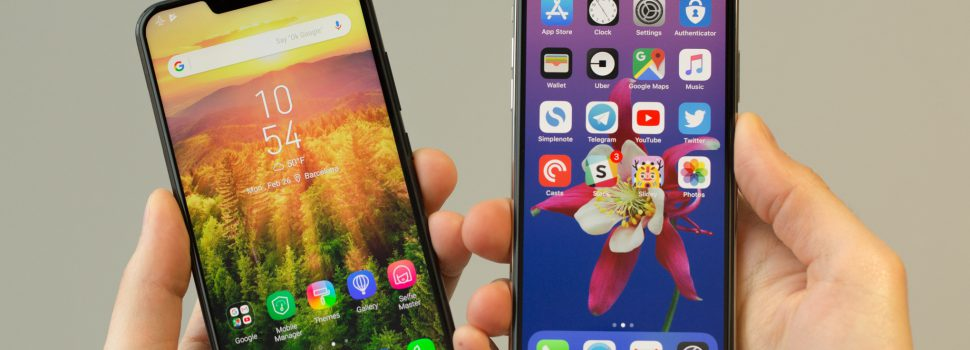 Ausu Z5 It Looks like iPhone Acts Like Cheap Android