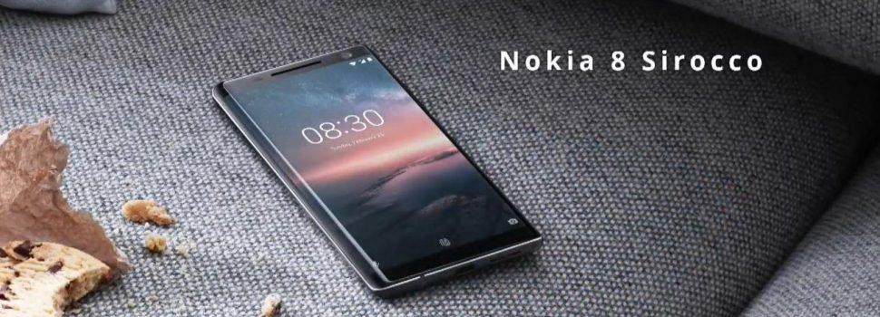 Nokia 8 Sirocco Brings Welcomed News.