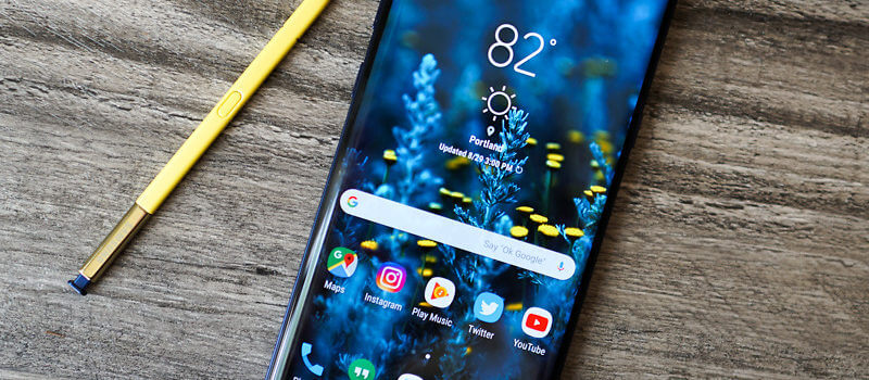 Smartphone Spotlight: Galaxy Note 9