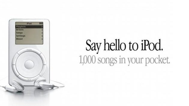 Tech Throwback: 1st generation iPod