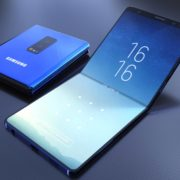 Samsungs Galaxy F, the Foldable Smartphone