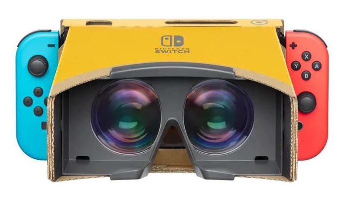 Nintendo Adorably Introduces VR to the Switch