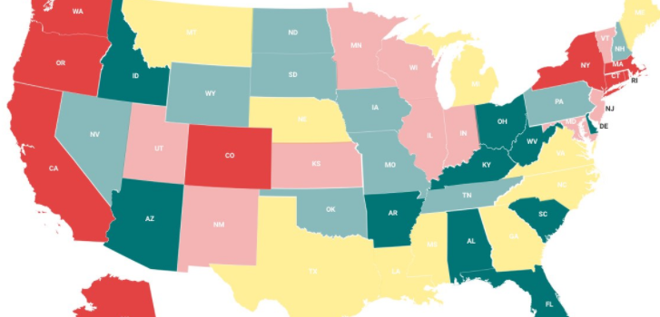 Best States for Senior Independent Living